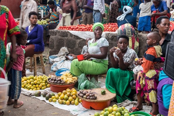 Exploring in Musanze's local market