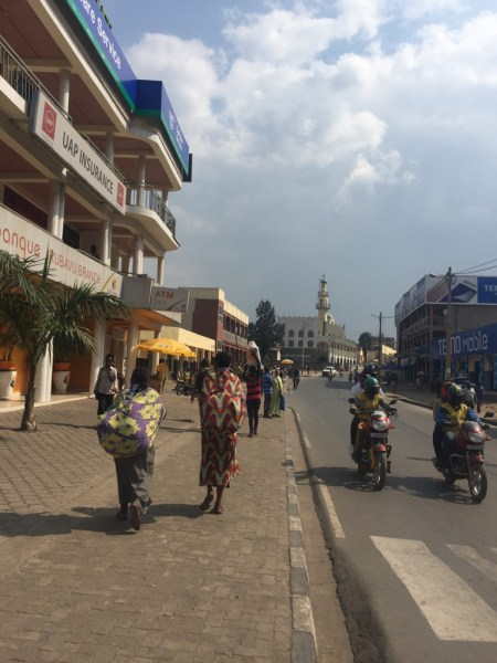 Downtown Gisenyi