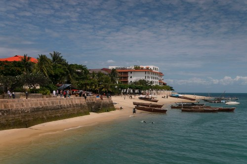 Stone Town's waterfront