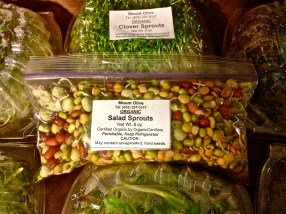 Salad Sprouts from Mt. Olive: Add a little crunch to any salad to make it more interesting