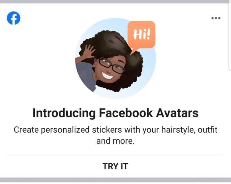 Introducing Facebook Avatars