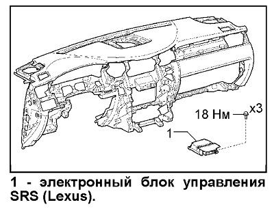 Toyota Tundra / Sequoia / Lexus LX-570. Электронный блок