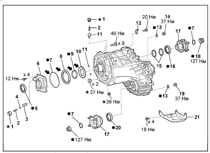 Toyota Tundra / Sequoia / Lexus LX-570. Снятие и установка