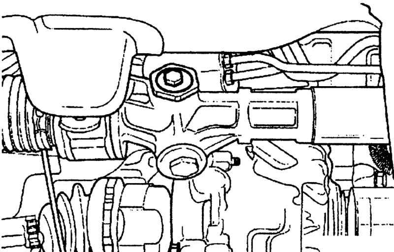 Регулировка зазора рулевого механизма без гидроусилителя