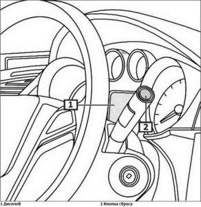 Как сбросить сервисный интервал на Opel Insignia 2008