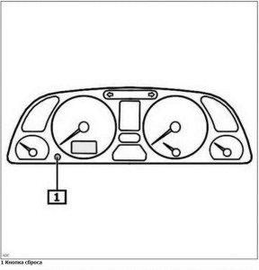 Как сбросить сервисный интервал на Peugeot 306 1993-2000