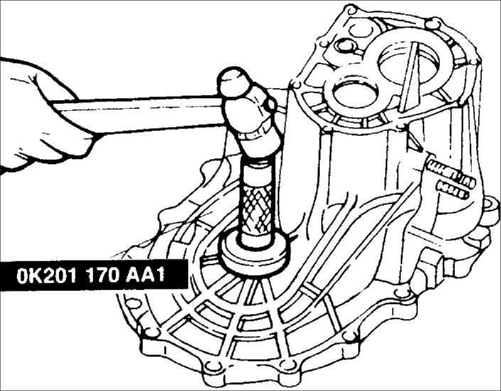 Картер сцепления и компоненты картера коробки передач BF