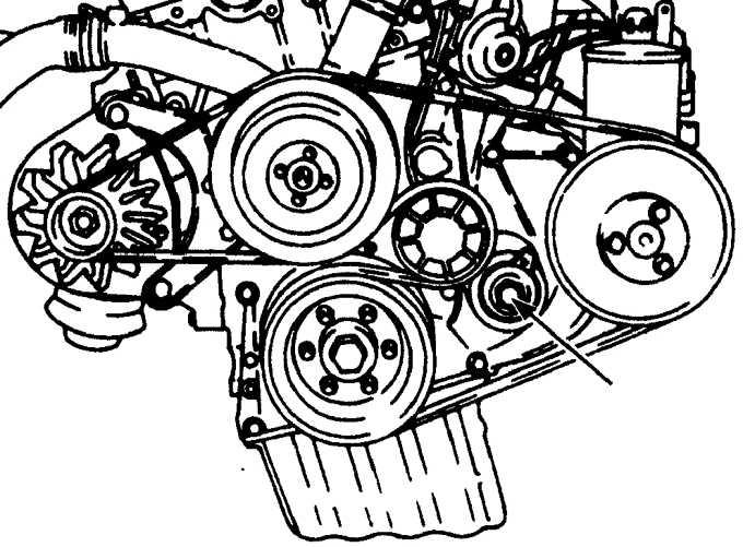Снятие и установка 4-цилиндровых бензиновых двигателей