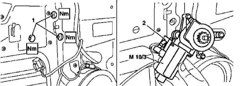 Снятие и установка электромоторов привода регуляторов