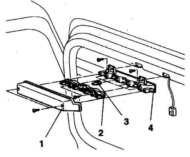 Лампа дополнительного сигнала торможения (1992-98 гг, )