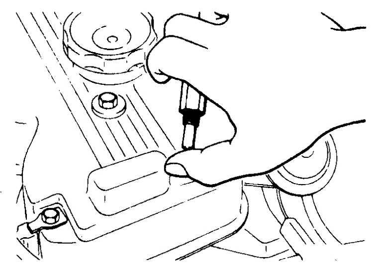 Золотник вентиляции картера (бензиновые двигатели