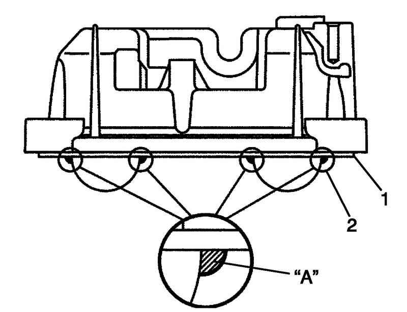 Снятие и установка крышки головки блока цилиндров