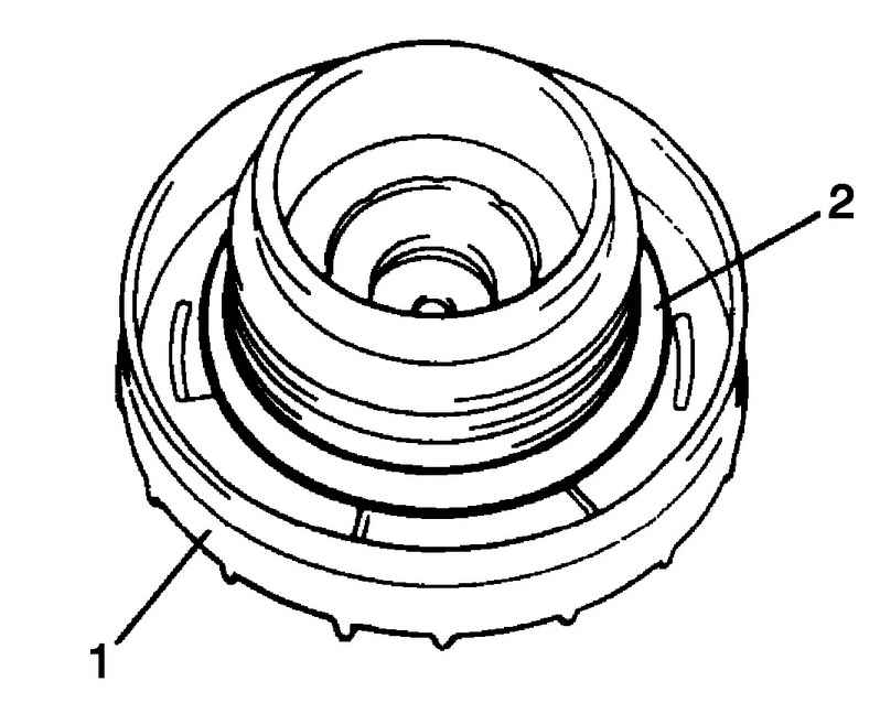 Проверка крышки заливной горловины топливного бака