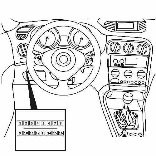 Технические данные ALFA-ROMEO 156 Sportwagon (932) 3.2 GTA