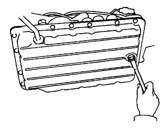 Замена жидкости в автоматической трансмиссии и фильтра