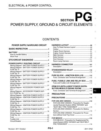 2013 Hyundai Genesis Fuse Box 2011 Nissan 370z Power Supply Ground Amp Circuit Elements