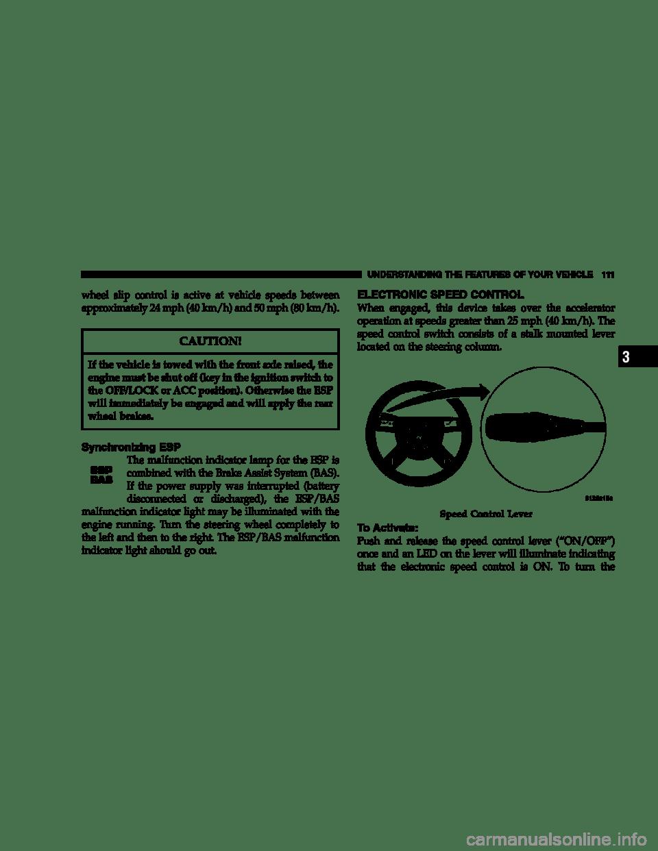 Esp Bas Light Chrysler 300 : light, chrysler, Battery, CHRYSLER, Owners, Manual, Pages)