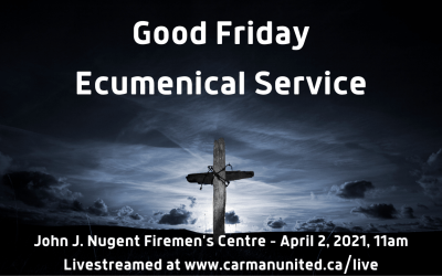 Good Friday Ecumenical Service – April 2, 2021