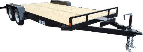 small resolution of equipment trailer angle iron open car full treated plank deck