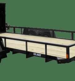 utility trailer angle iron tandem axle [ 1344 x 597 Pixel ]
