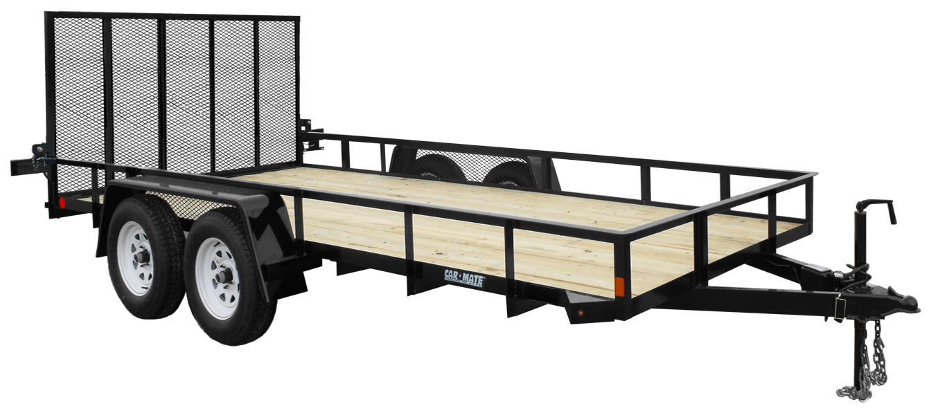 hight resolution of utility trailer angle iron tandem axle