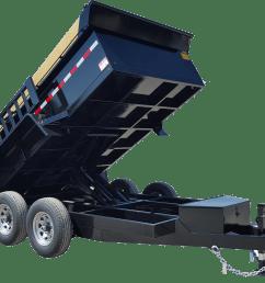 utility trailer sst single axle contractor dump [ 2315 x 1800 Pixel ]
