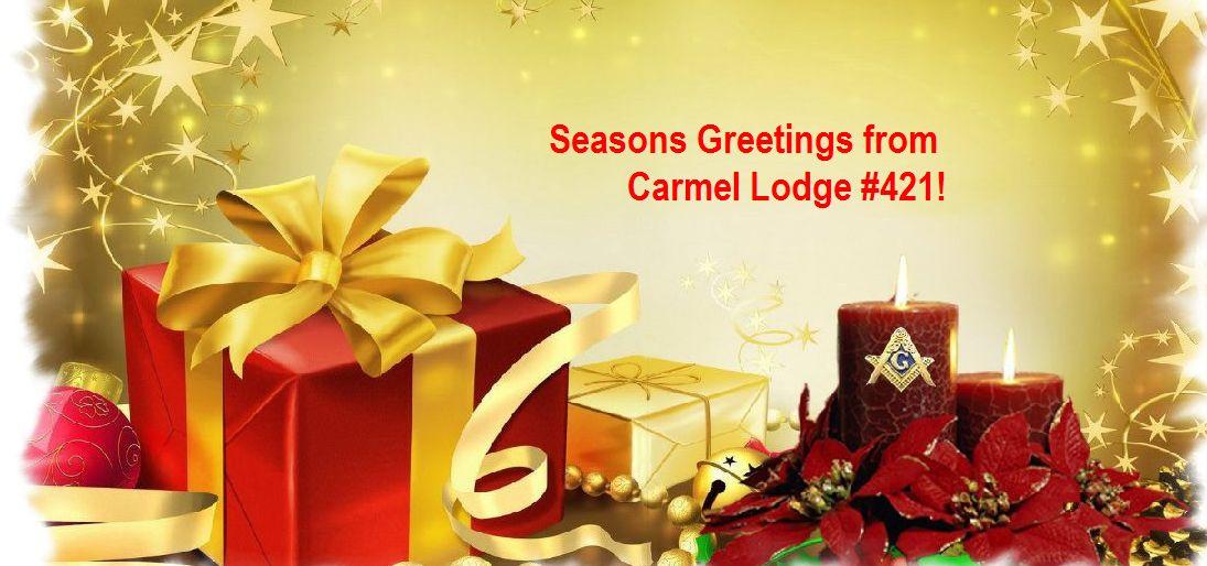 A Freemasons Christmas Wish Carmel Masonic Lodge No 421