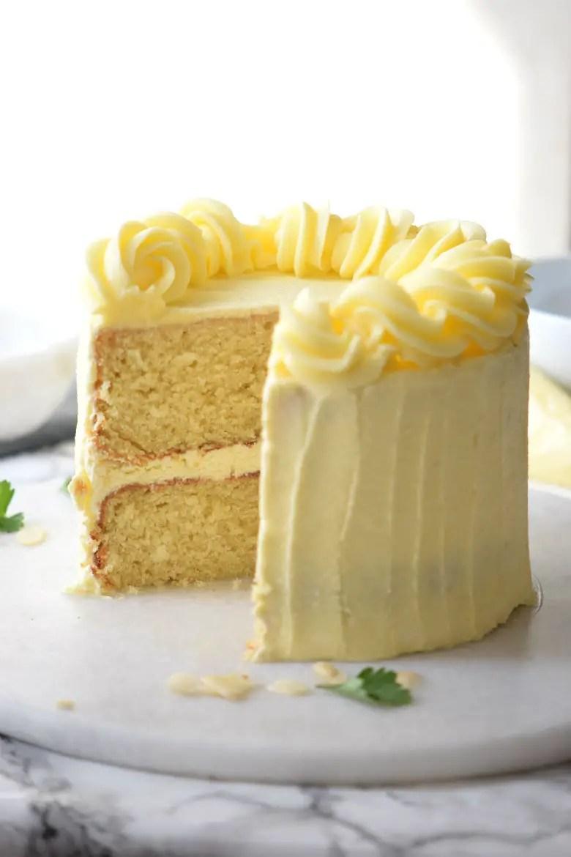 The Very Best Vanilla Layer Cake Recipe Carmela Pop