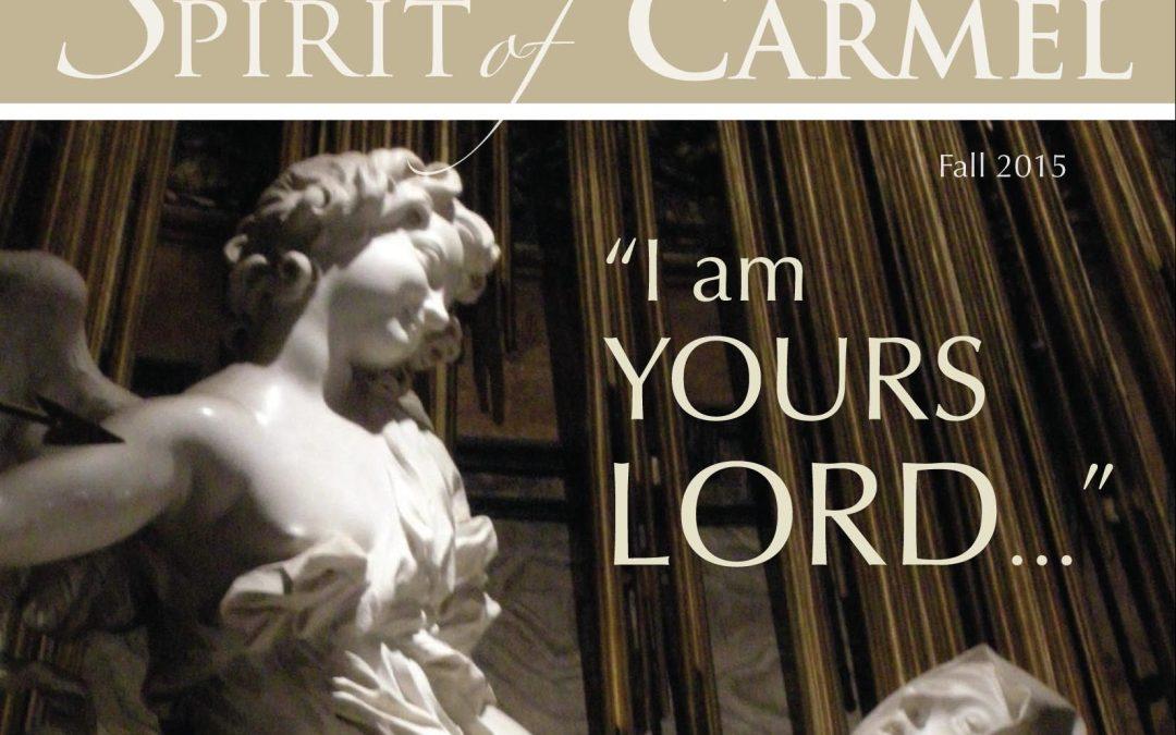 Spirit of Carmel | Fall 2015