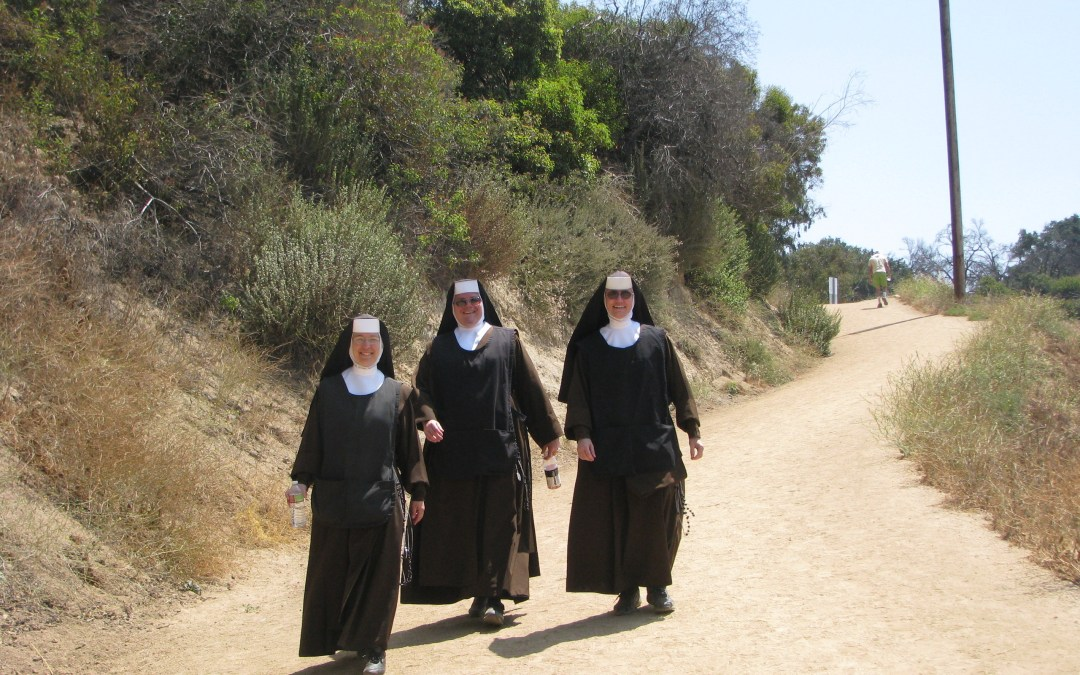 """Ascent of Mount Carmel"" Vocation Hike 