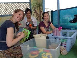 Serving with Sisters Volunteers