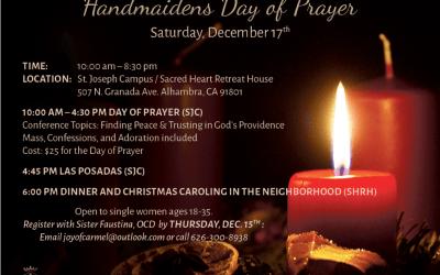 Handmaidens | Day of Prayer