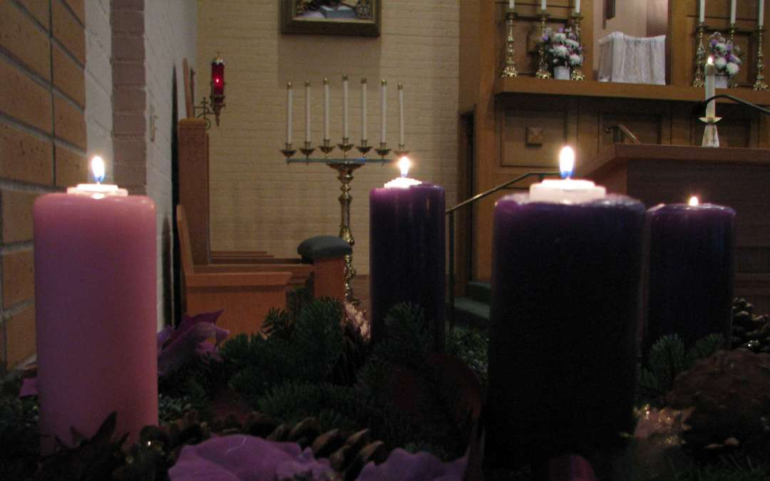 Advent: Mercy Rushes In