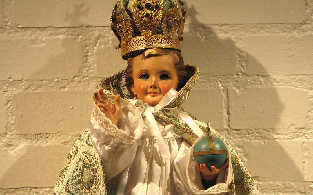The Origin of the Infant of Prague