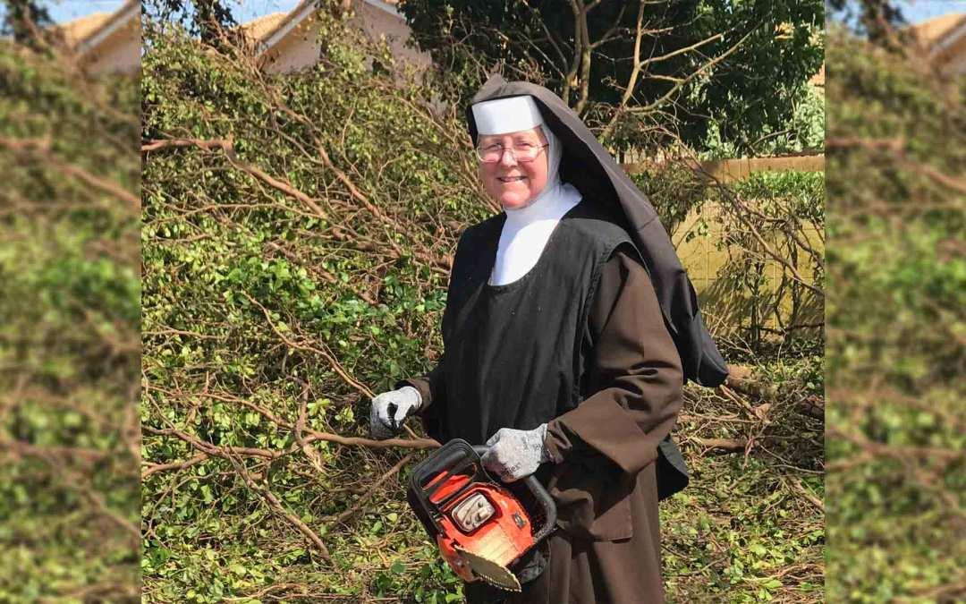 "The ""Chainsaw Nun"" – Through Hope, We Can Endure Adversity"