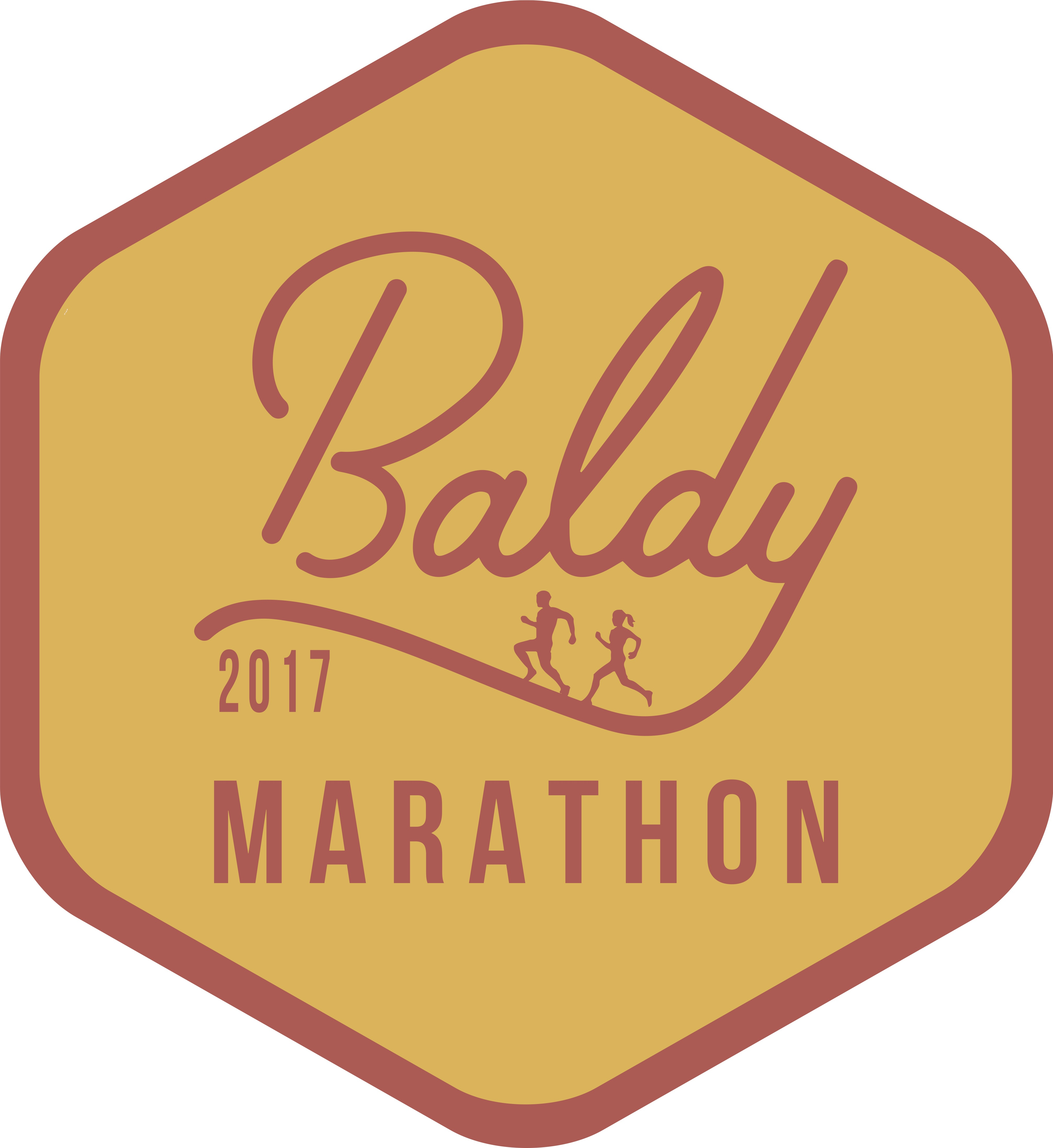 Baldy Marathon Logo