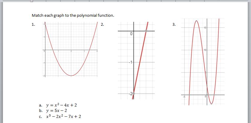 Assessment! (Again)