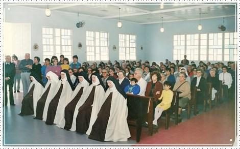 Acolhida na Paróquia Nossa Senhora do Carmo, em Coqueiros