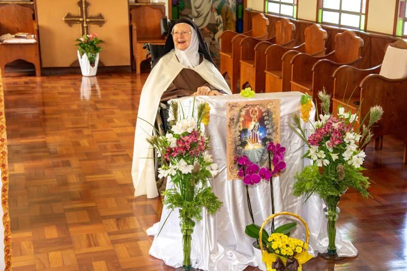 70 anos de Vida Religiosa Irmã Maria Stella-7