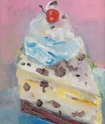 MC-900 A LITTLE SLICE OF CAKE- BIRTHDAY CARD