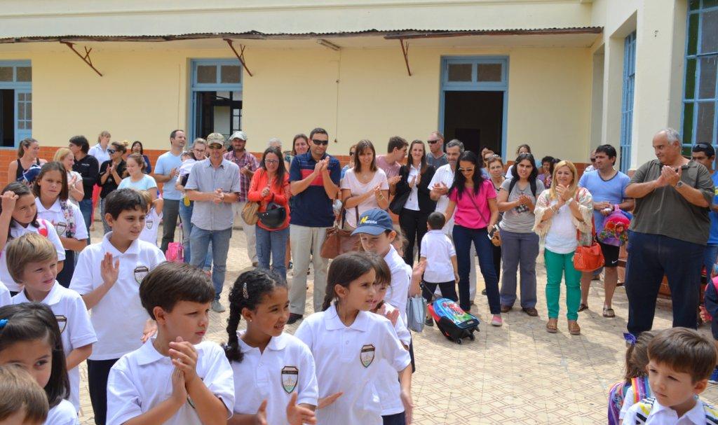 Colegio Del Carmen comenzó su andar en el viejo edificio del colegio de las Hermanas.