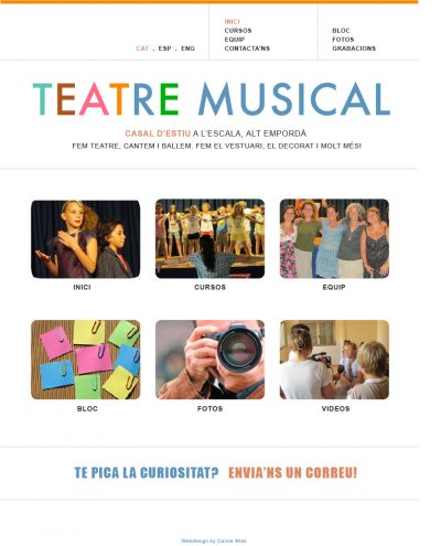 Musical theatre school layout proposal