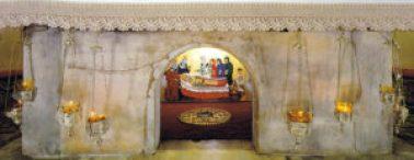 Le reliquaire de Saint Nicolas, dans l'église italienne de Bari