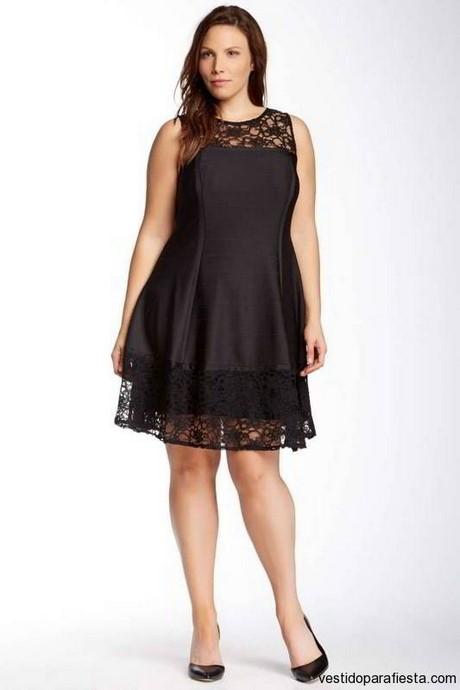 Vestidos Cortos Negros Con Encaje