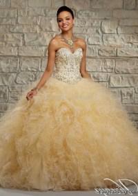 Gold 15 dresses