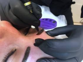 Permanentní make up obočí Carmen & Clinic Regenerační & Lymfa studio