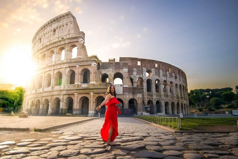 7 Maravillas del Mundo, Coliseo Romano - Italia