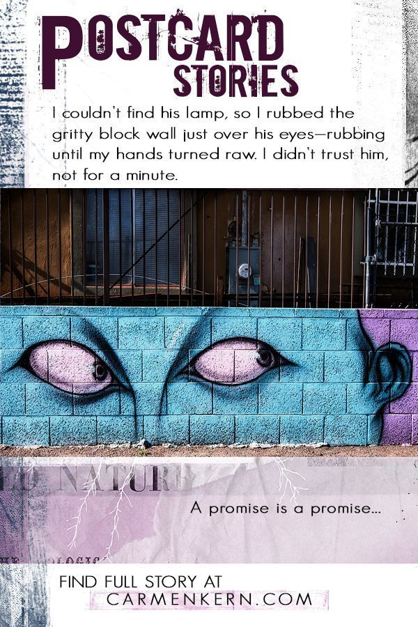 Postcard-sized flash fiction about the things we think we know about others, life, death, and everything in between. And it all starts with an image...