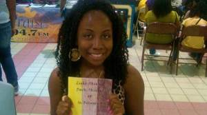 Kiara Lee A University of Richmond junior with own website and self-published book on raising awareness of colorism.