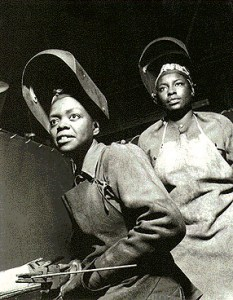 African American Women Welders during WWII